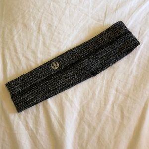 lululemon headband gray